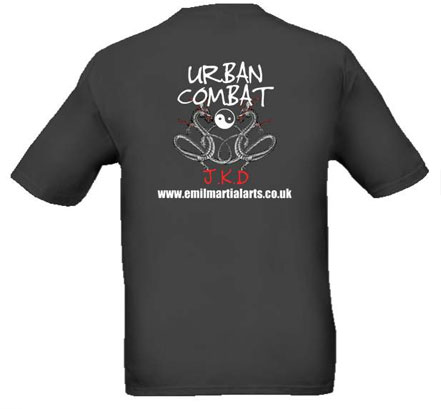 Urbancombat T-shirt back view
